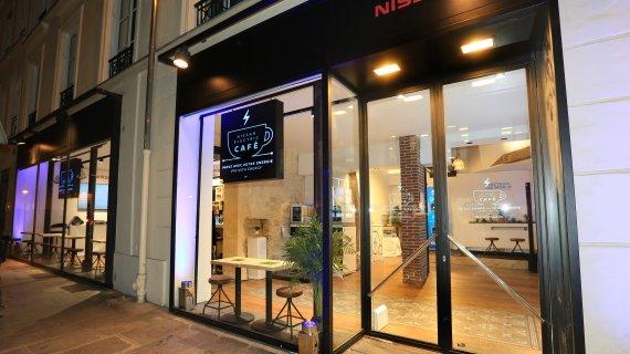 Компанія Nissan відкриває нове кафе в Парижі