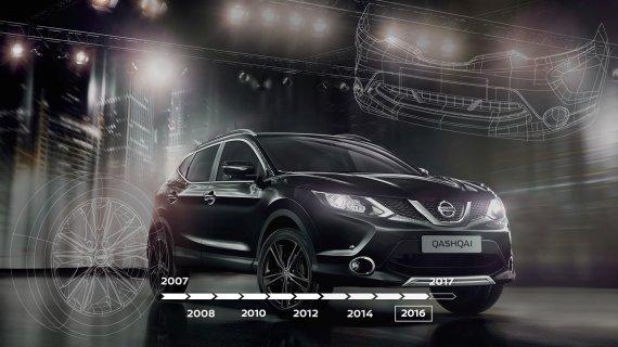 Компанія Nissan випустила спеціальне відео напередодні святкування ювілею Nissan Qashqai